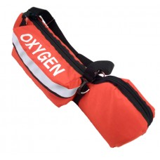 Portable Oxygen E Cylinder Padded Bag Orange